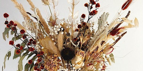 Maak je eigen droogbloemenboeket / make your own dried flower bouquet tickets