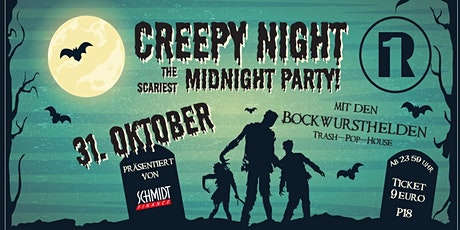 Creepy Night - The Scariest Midnight Party Tickets