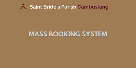Sunday Mass on 4th October 2020 - 12pm tickets