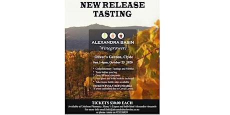 Alexandra Basin - New Releases Wine Tasting 2020 tickets
