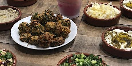 """Atelier """" Menu végétarien libanais"""" - en collaboration avec Cheffe Arama billets"""