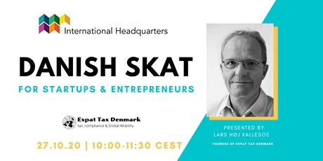Danish Skat for Entrepreneurs tickets