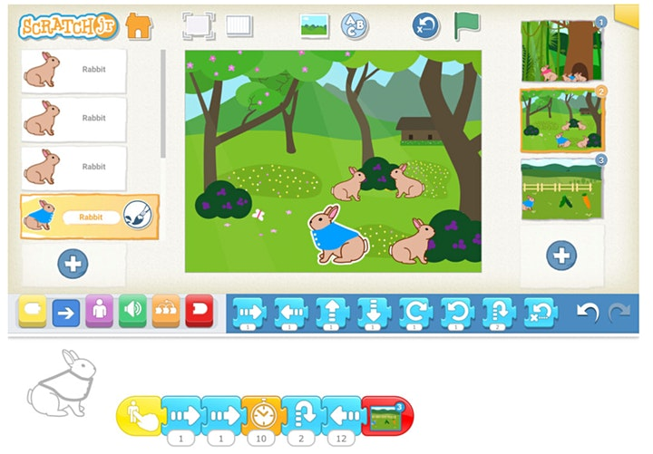 Curious Creatures Chapter 2: Bunny Tales, [Ages 5-6] @ Online image