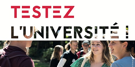 """""""TESTEZ L'UNIVERSITÉ"""" UCO - NANTES 20-21 et 27-28 OCTOBRE 2020 billets"""