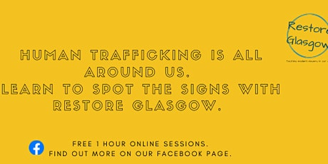 Spot the Signs of Human Trafficking: online training tickets