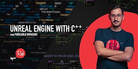 RED Workshop - Unreal Engine with C++ biglietti
