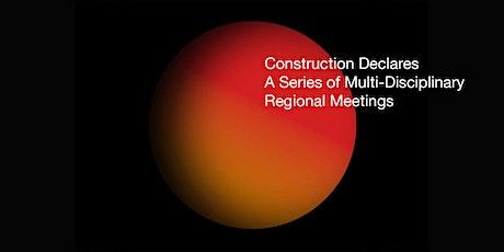 Construction Declares Regional Meetings - Wales tickets