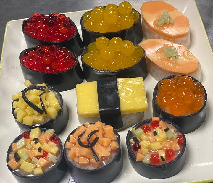 Sushi Agar Agar Making Workshop - Natural Food Colourings image