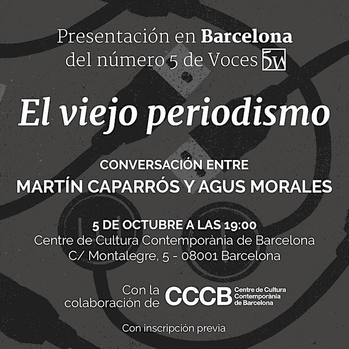 Imagen de Presentación en Barcelona de 'El viejo periodismo'