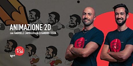 RED Workshop - Animazione 2D biglietti