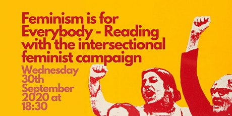 Feminism is for Everybody - Reading group tickets