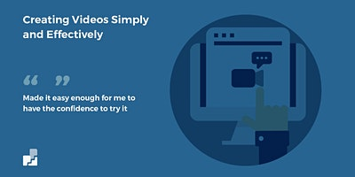 Creating Your Own Videos Simply and Effectively November  2020