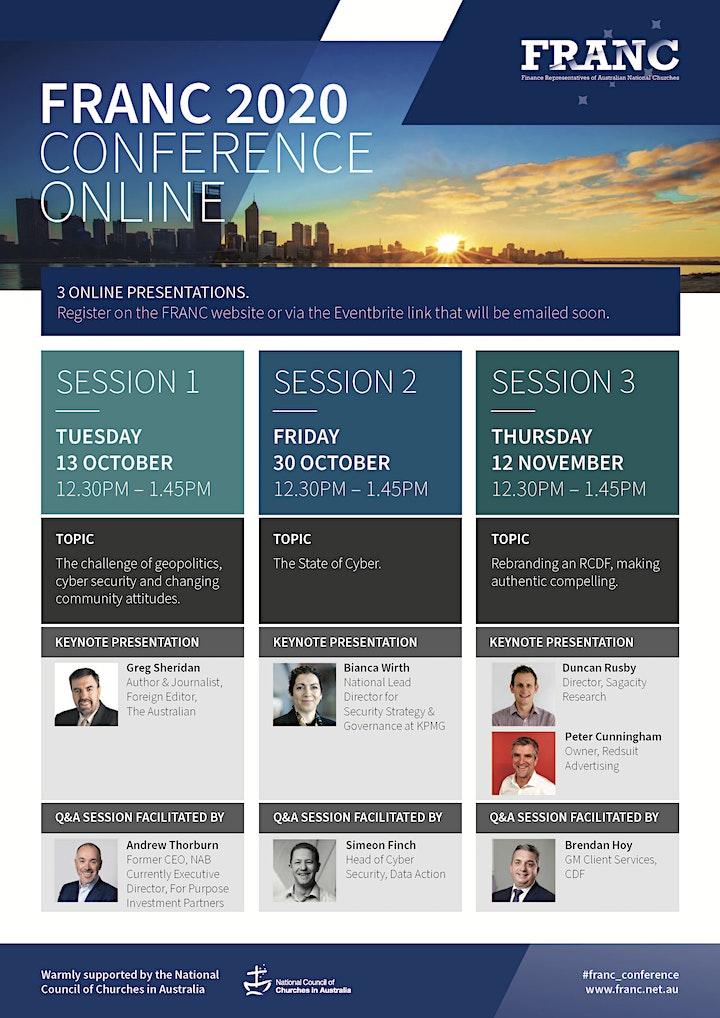 FRANC 2020 Conference - Online image