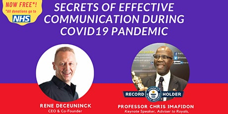 How  to achieve success via effective communication during COVID19 pandemic tickets