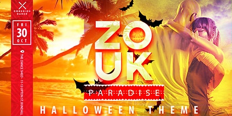 Zouk Paradise Workshop and Practica - Halloween Theme tickets