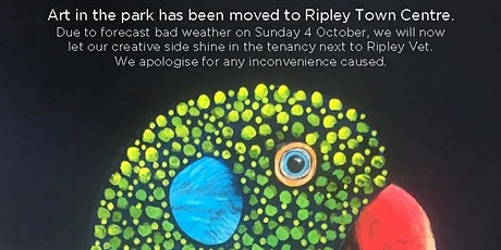 Art in the park - Has been relocated to Ripley Town Centre tickets
