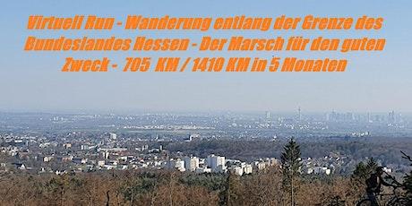 Virtuel Run - Wanderung entlang der Grenze des Bundeslandes Hessen Tickets
