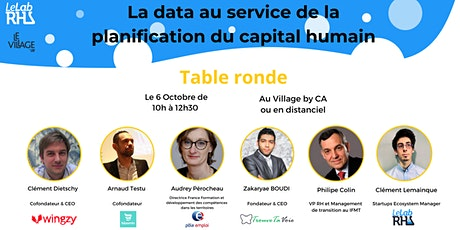 Table ronde : La data au service de la planification du capital humain billets