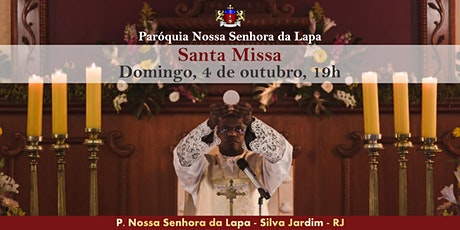 SANTA MISSA - 04/10 - Domingo - 19h ingressos