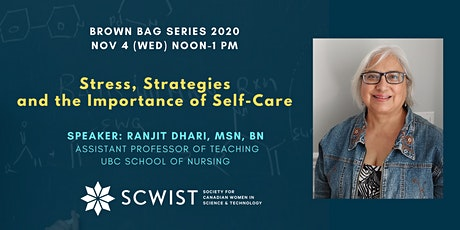 Stress, Strategies & The Importance of Self-Care tickets