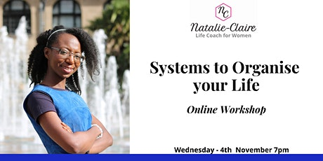 Systems to Organise your Life tickets