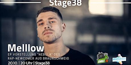 Digitale Konzertbühne Stage38 mit Melllow Tickets