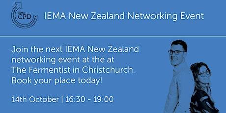 NZ141020  New Zealand: Christchurch Networking Event tickets