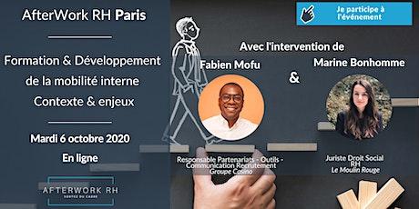AfterWork RH Paris - Formation & Développement de la mobilité interne billets