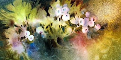 Layering Wet into Wet with Negative Painting with Linda Kemp