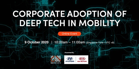 Corporate Adoption of Deep Tech in Mobility [Online Event] tickets