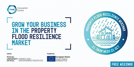 Grow your business in the Property Flood Resilience Market tickets