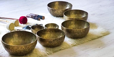 颂钵声频静修课 (Eng/Chinese) Singing Bowl Sound Bath Meditation by SC tickets