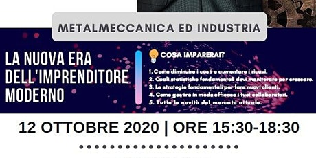 V-OSM Metalmeccanica ed Industria biglietti