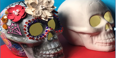 Day of the Dead themed online art workshop for children (suitable for 8+) tickets