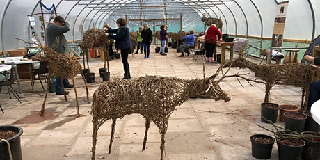 Life sized  willow reindeer - 2 day course at Hilton Green tickets