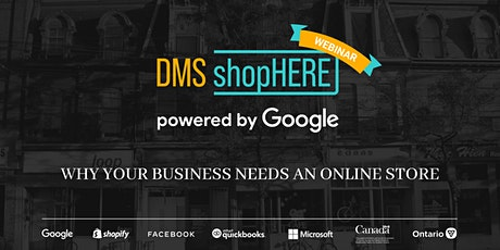 Why Your Business Needs An Online Store - ShopHERE powered by Google tickets
