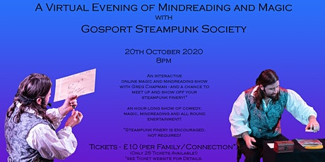 A Virtual Evening of Mindreading and Magic with Gosport Steampunk Society tickets