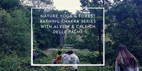 Nature Yoga and Forest Bathing Chakra Retreat tickets