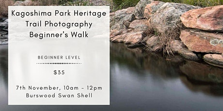 Kagoshima Park Heritage Trail (Swan Shell) Photo Walk - Beginner Session tickets