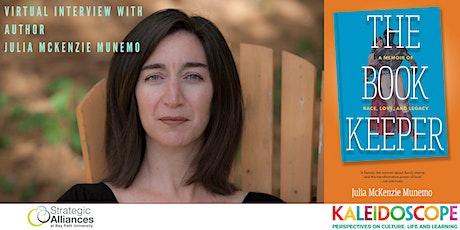 The Book Keeper: Interview with Author Julia Mckenzie Munemo tickets