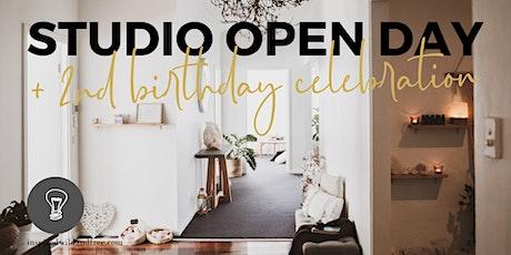 Studio OPEN DAY & 2nd Birthday Celebration tickets