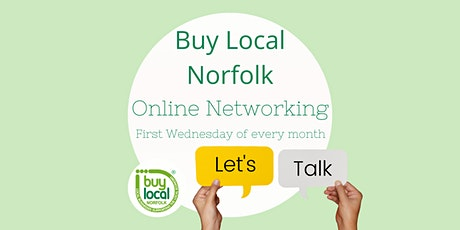 Buy Local Norfolk FREE Online Networking - 4th November 2020 tickets