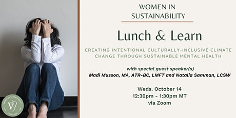 Women in Sustainability - Sustainable Mental Health tickets