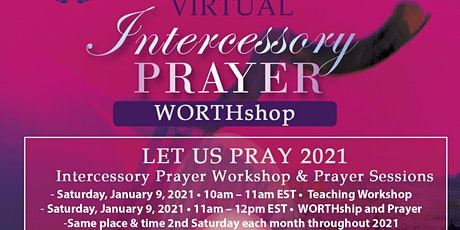 Virtual Intercessory Prayer WORTHshop tickets