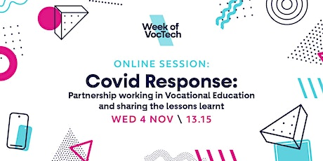 Covid Response: Partnership Working in Vocational Education tickets