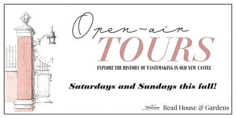 Read House & Gardens Open-Air Tour tickets