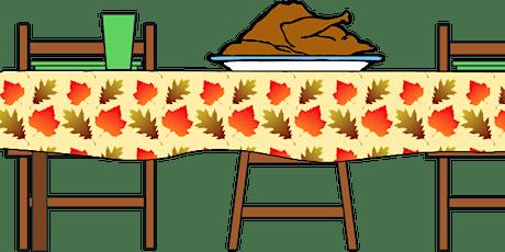 HRAP Thanksgiving Dinner Program tickets
