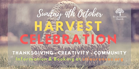 Harvest Celebration - St Laurence's Church tickets