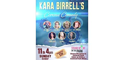 Kara Birrell's Corona Comedy tickets