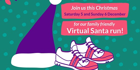 Virtual Santa run tickets
